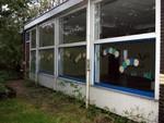 De school het Mierennest aan de Lange Voort is gesloopt. Deze foto`s zijn gemaakt najaar 2002.