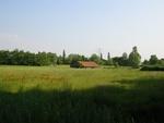 Het laatste stuk polder op de grens Oegstgeest, Warmond en Leiden. Op dit moment is er een stuk van de Overveerpolder in gebruik genomen voor Sportvelden.