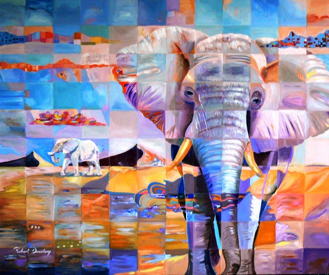 Elephant Impressions