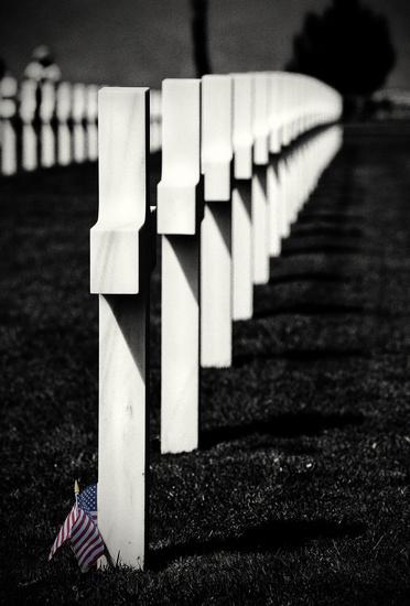 American War Cemetery Normandy