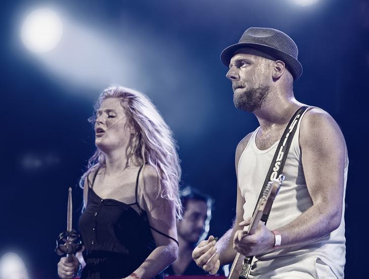 Guitar Player Miss Montreal @ Ribs & Blues festival Raalte 3