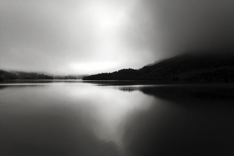 Fog in Norwegian Fjord 1