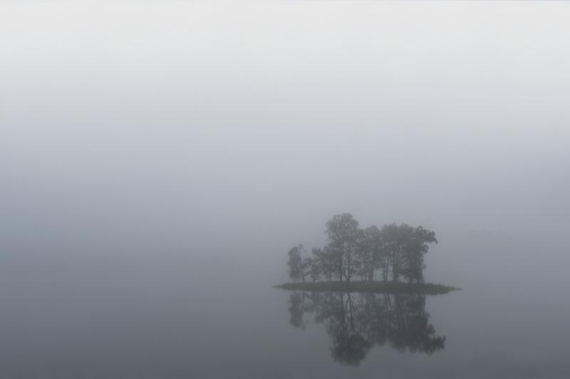 Fog in Norwegian Fjord 2