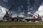 Captures taken at work with Heerema Semi Submersible Crane Vessels