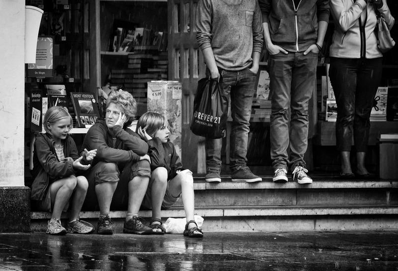 Rain In Antwerp