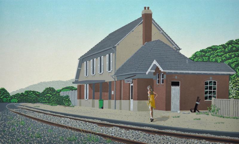 la Gare d'Incheville