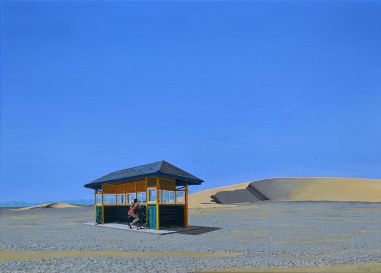 Woestijn abri
