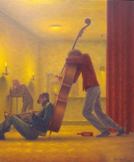 slapende muzikanten