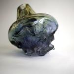 Een nieuwe serie Landschappen. Geblazen glas Deze worden ook als unica's in Kroonluchters verwerkt.