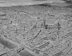 City in Tuscany