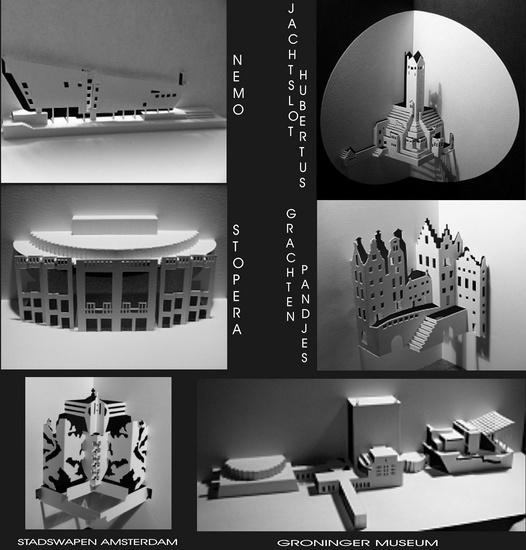 Overzicht werken van Nederlandse gebouwen