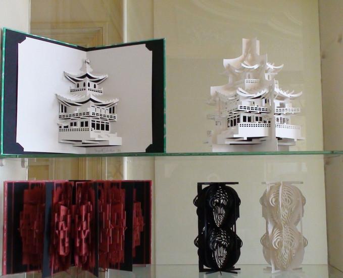 Top shelves showcase