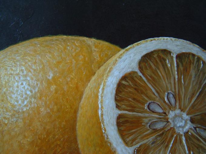 Detail 2 van Roemer en citroenen