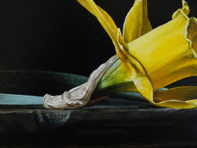Detail 2 van Narcissen