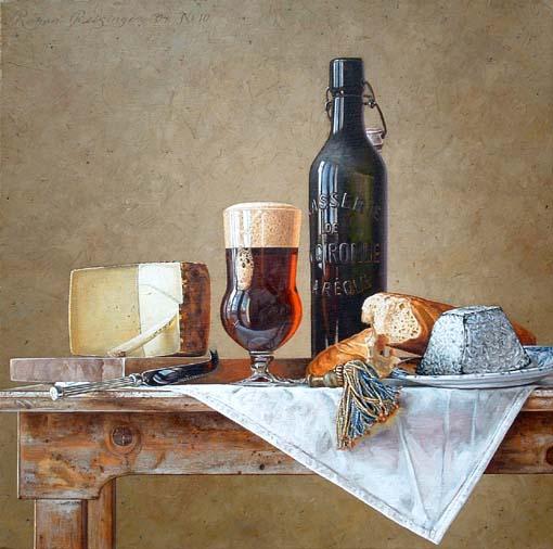 Stilleven met kaas