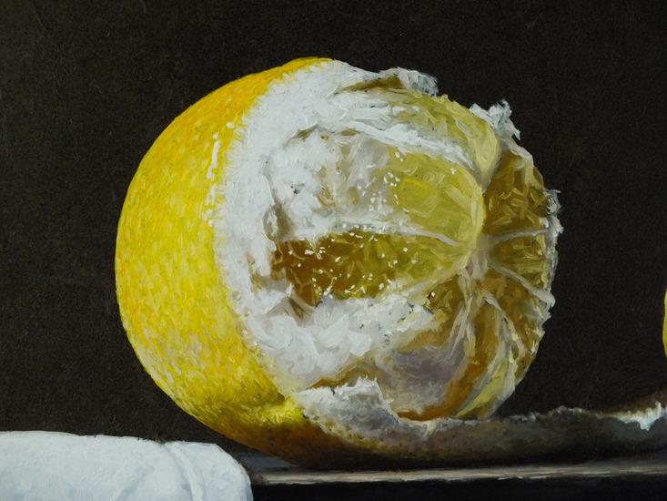 Detail 1 van kruik en oesters