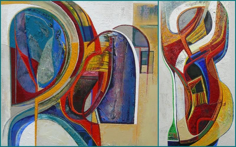 Ellen van randeraat exposities - Kleur schilderij gang ...