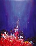 Een reeks van acrylschilderijen geinspireerd op de muziek van Ludovic Navarre, beter bekend onder de naam St-Germain.