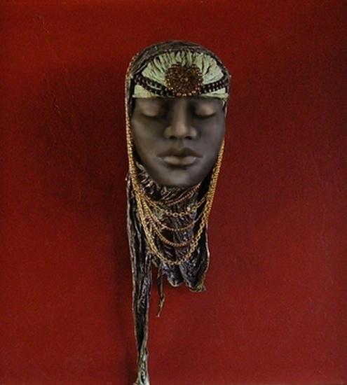 Afrikaanse vrouw.