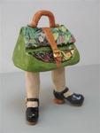 Werk speciaal gemaakt voor de tentoonstelling fanTAStisch.De tas als kunstobject.