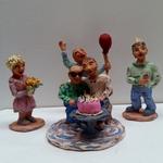 Klein werk gemaakt ter ere van het 10-jarig bestaan van Galerie Posthuys en andere feestelijkheden.
