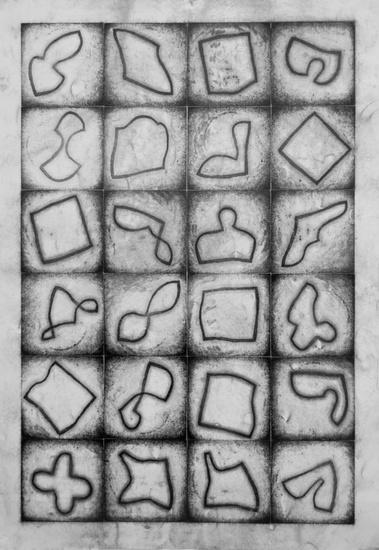 Gebogen vierkanten