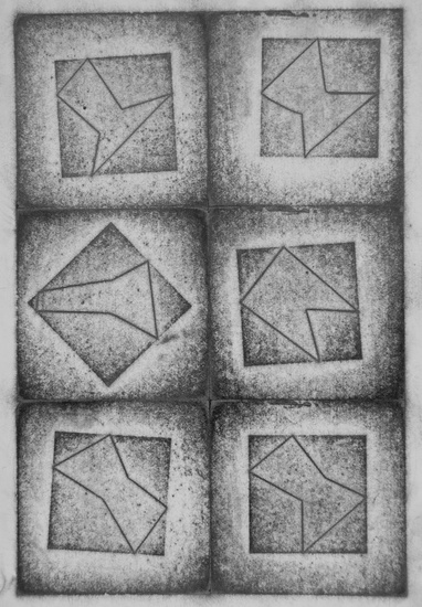 Vierkanten in vierkanten