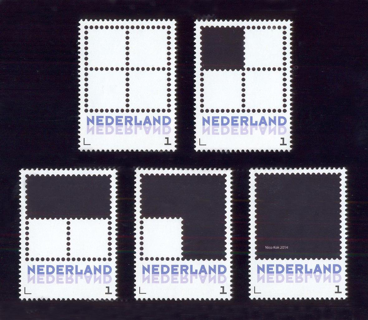 Vierkant met middellijnen