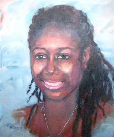 Portret van Davina