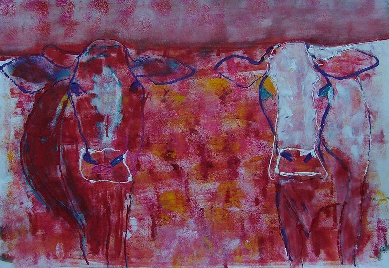Rode koeien