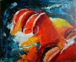 Werken op de grens van abstract en figuratief