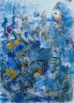 In deze galerie vindt u schilderijen die ontstaan zijn door een speciale aanpak. Niet vanuit een vooropgezet idee of concept, maar juist door toeval.