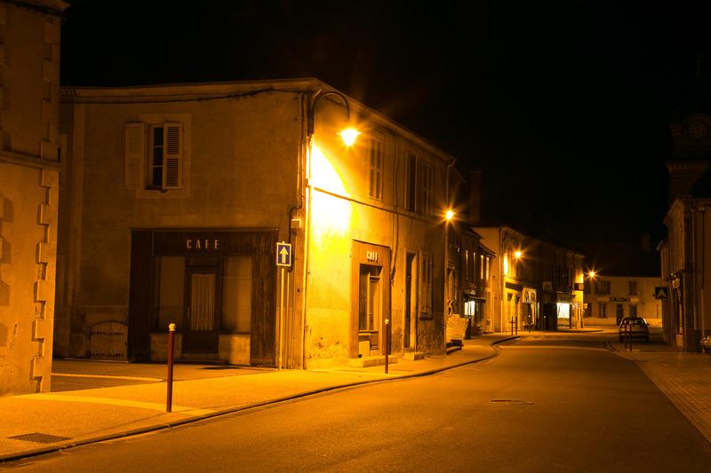 Franse dorpsstraat