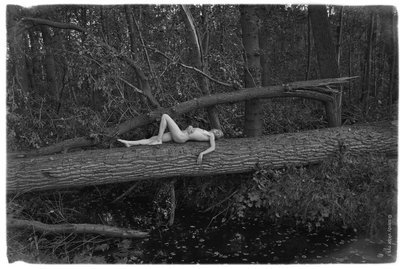 nude in wood
