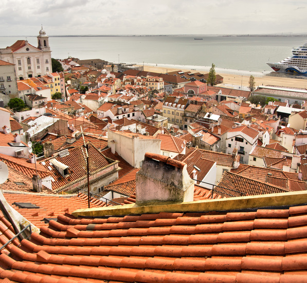 Panorama-Largo das Portas do Sol
