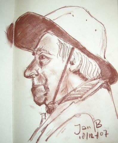 model Jan B