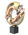 Geheel binnen de in steen ingezette lijn maakt Karel nu ook ontwerpen voor bronzen beelden. Niet met was of klei, maar in een 3-D programma. De ontwerpen worden eerst 3-D geprint om vervolgens in Brons Aluminium of Glas gegoten te worden.