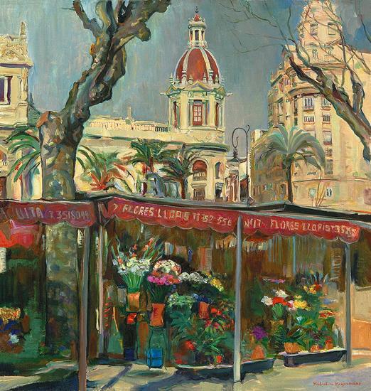 Valencia - Bloemenmarkt