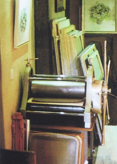 Etspers in Atelier Le Carroz