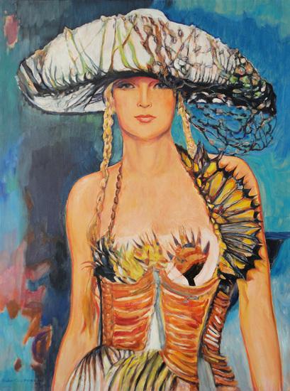 J.P. Gaultier grote hoed