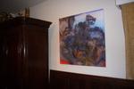 Originele collage geprint op canvas. Gesigneerd en genummerd van 1 tot 5. Printing door www.arttoart.eu