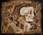 schilderijen in een fantastische of surrealistische stijl.