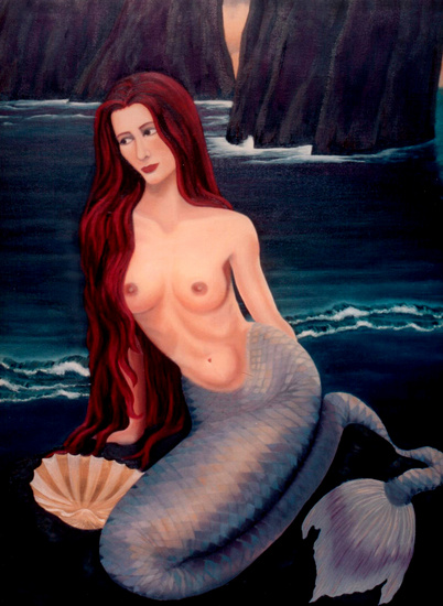 Lonely Mermaid's Longing