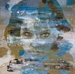 Het perfecte midden tussen figuratief & abstract werk. Een contemporary blend van hedendaagse schilderstijlen.