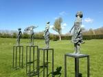 Pauline Schreibers - bronzen beelden