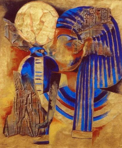 Cheops en Nefertete
