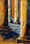 schilderijen ontstaan naar aanleiding van een rondreis door Egypte