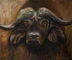 De dieren die ik schilder portretteer ik in hun eigen context.