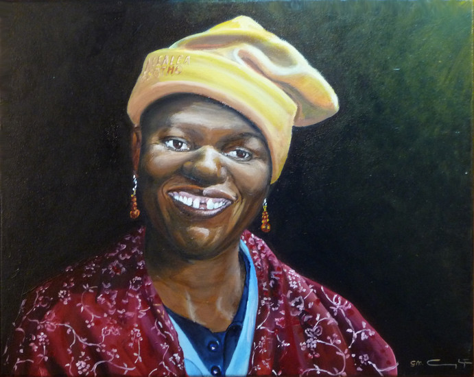 Lesotho-Vrouw