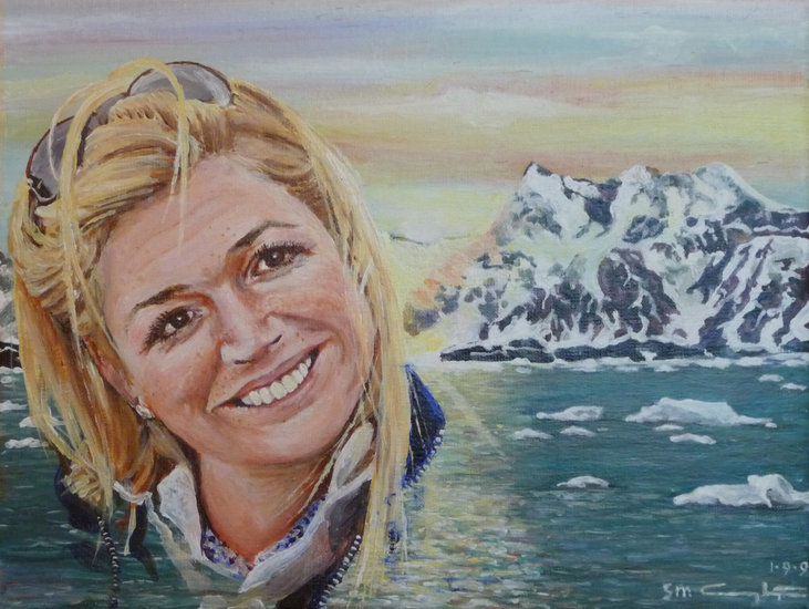 Gezicht op Antarctica - Pr. Maxima